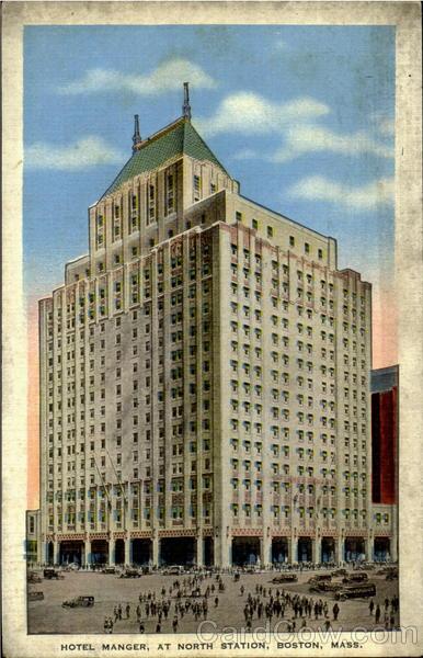 Kenmore Hotel Manger Bos...